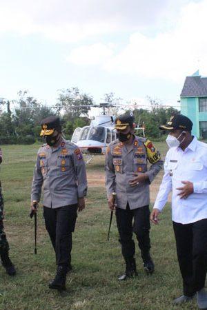 Jelang-Kunjungan-Kapolri-dan-Panglima-TNI-Kapolda-Jatim-bersama-Pangdam-V-Brawijaya-Tinjau-Sumenep